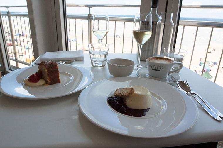 Accord vin blanc et dessert